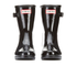 Hunter Women's Original Refined Short Gloss Wellies - Black: Image 4