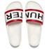 Hunter Women's Original Slide Sandals - White: Image 1