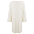 Helmut Lang Women's Satin Back Crepe Scoop Tunic Dress - Ivory: Image 2