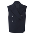 Helmut Lang Women's Brushed Doubleface Double Breast Waistcoat - Navy: Image 1