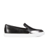 KENZO Women's K-Point Leather Slip-On Low Top Trainers - Black: Image 1