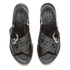 KENZO Women's Kruise Buckle Leather Sandals - Black: Image 2