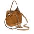 Coccinelle Women's Jessie Suede Bucket Bag - Tan: Image 2