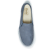Keds Women's Double Decker Washed Leather Slip On Trainers - Navy: Image 3