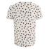 Oliver Spencer Men's Shapes T-Shirt - Oatmeal/Burgundy: Image 2