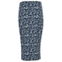 The Fifth Label Women's Basic Instinct Skirt - Geographic Blue Print: Image 3