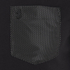 Luke Men's Chump Patch Pocket Detail Crew Neck T-Shirt - Jet Black: Image 3