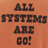 TSPTR Men's Astro Snoopy Crew Neck Sweatshirt - Orange: Image 4
