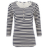 Maison Scotch Women's Home Alone Granddad 3/4 Sleeve T-Shirt - Multi: Image 1