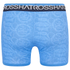 Crosshatch Men's Lightspeed 2-Pack Boxers - Neon Blue/Black: Image 3