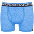 Crosshatch Men's Lightspeed 2-Pack Boxers - Neon Blue/Black: Image 2