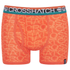 Crosshatch Men's Lightspeed 2-Pack Boxers - Madarin/Black: Image 2