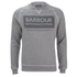 Barbour International Men's Logo Sweatshirt - Grey Marl: Image 1