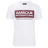 Barbour International Men's Logo T-Shirt - White: Image 1