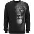 Versus Versace Men's Faded Lion Logo Sweatshirt - Black: Image 1