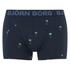 Bjorn Borg Men's Twin Pack Palms Boxers - Total Eclipse: Image 5