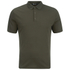 T by Alexander Wang Men's Short Sleeve Polo Shirt - Army: Image 1