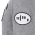 Alexander Wang Men's Crew Neck Sweatshirt With Barcode Patches - Heather Grey: Image 3