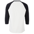 Alexander Wang Men's Raw Edge Patched Baseball 3/4 Sleeve T-Shirt - Matrix: Image 2