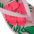 Havaianas Women's Slim Floral Flip Flops - Crystal Rose: Image 4