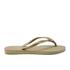 Havaianas Women's Slim Swarovski Crystal Glamour Flip Flops - Sandy Grey/Light Gold: Image 2