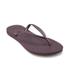 Havaianas Women's Slim Flips Flops - Aubergine: Image 3