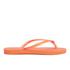 Havaianas Women's Slim Flip Flops - Neon Orange: Image 2
