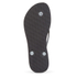 Havaianas Women's Slim Crystal Poem Flip Flops - Black/Graphite: Image 5