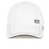 BOSS Green Men's Small Logo Cap - White: Image 1