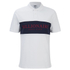 Billionaire Boys Club Men's Monaco Polo Shirt - White/Navy: Image 1