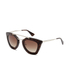 Prada Women's Catwalk Cinema Sunglasses - Havana: Image 2