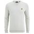 Lyle & Scott Vintage Men's Crew Neck Twill Look Sweatshirt - Light Grey Marl: Image 1