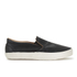 YMC Men's Slip-on Trainers - Black: Image 1