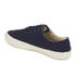 YMC Men's Lace Up Trainers - Navy: Image 5