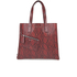 Marc By Marc Jacobs Womens Snake Wingman Shopping Tote Bag - Red: Image 1