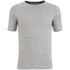 Armor Lux Men's Zig Zag T-Shirt - Rich Navy/Zand: Image 1