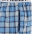 Tokyo Laundry Men's Half Moon Bay Check Lounge Pants - Swedish Blue: Image 3