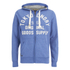Tokyo Laundry Men's Tomahawk Bay Zip Through Hoody - Cornflower Blue: Image 1