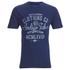 Tokyo Laundry Men's Indigo Tiger Acid Wash T-Shirt - Dark Indigo: Image 1