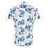 Superdry Men's Miami Oxford Short Sleeve Shirt - Large Hibiscus Optic: Image 2