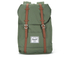 Herschel Retreat Backpack - Green/Tan: Image 1