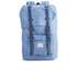 Herschel Women's Little America Mid-Volume Polka Dot Crosshatch Backpack - Light Blue: Image 1