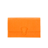Aspinal of London Women's Classic Travel Wallet - Orange: Image 1