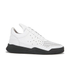 Filling Pieces Men's Gradient Perforated Low Top Suede Trainers - White: Image 1