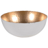 Bark & Blossom Large Cream and Gold Bowl: Image 1