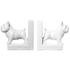 Bark & Blossom Bulldog Bookends: Image 1