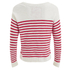 Superdry Women's Breton Icarus Jumper - White/Red: Image 2
