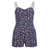 Superdry Women's Holiday Print Playsuit - Stem Floral: Image 1