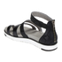 UGG Women's Zina Gladiator Sandals - Black: Image 4