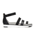 UGG Women's Zina Gladiator Sandals - Black: Image 1